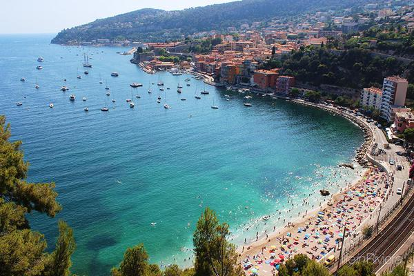 meilleure plage nice